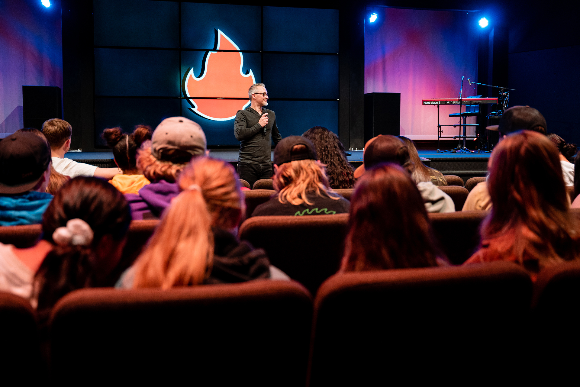 We do a lot at Expereince Church.tv Youth Puyallup, a Christian church
